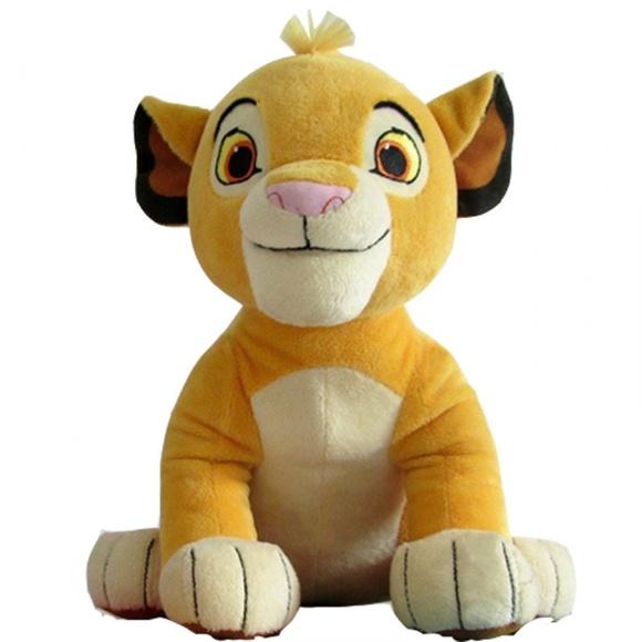 Disney Other Lion King Simba Plush Toy Cute Soft Stuffed Animal